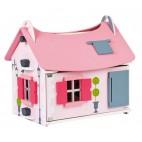 """Кукольный домик Janod """"Маленькая мадмуазель"""", с мебелью и куклами"""