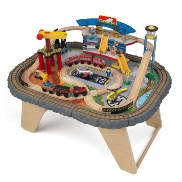 Транспортная железнодорожная станция KidKraft на столике