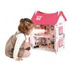 """Кукольный домик Janod """"Мадмуазель"""" с мебелью и куклами"""