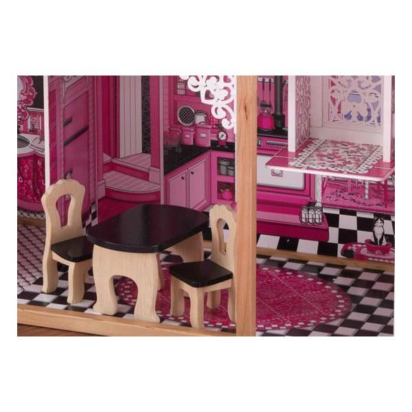 Кукольный, домик, с мебелью, Амелия, KidKraft, Amelia, 65093