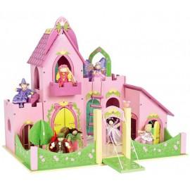 """Кукольный домик """"Замок принцессы Три желания"""""""