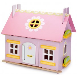"""Кукольный домик """"Маргаритка"""", с мебелью"""