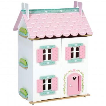 """Кукольный домик """"Нежные сердечки"""" Le Toy Van, 32 эл. мебели"""
