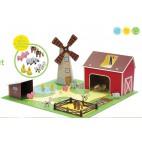 """Игровой набор """"Ферма с животными"""", Krooom"""
