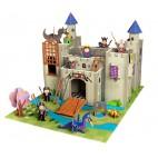 "Игровой набор ""Рыцарский замок короля Артура"", Krooom"