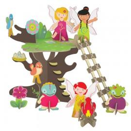 """Игровой набор """"Волшебное дерево фей"""", Krooom"""