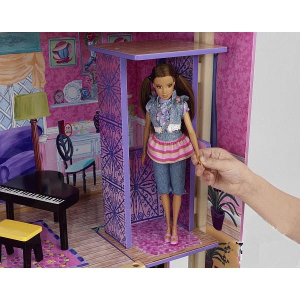 Как сделать свой домик для кукол своими рукам 51