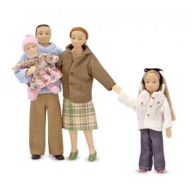 Куклы для кукольного домика Семья