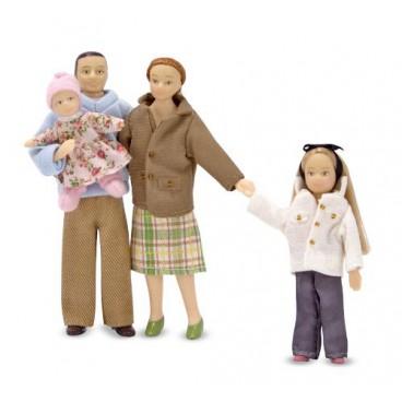Куклы для кукольного домика Семья (Melissa & Doug)