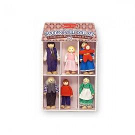 Набор кукол из дерева Melissa&Doug