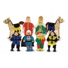 Набор кукол из дерева Жители замка Melissa & Doug
