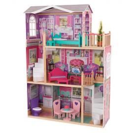 """Кукольный домик """"Делюкс"""" KidKraft с мебелью KidKraft"""