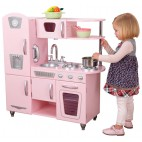 "Детская кухня розовая ""Винтаж"" Kidkraft"