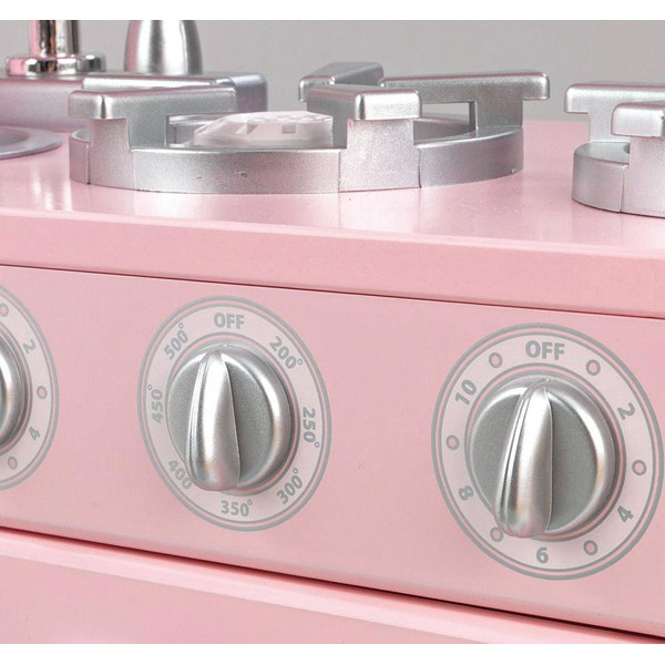 Детская кухня розовая Винтаж Pink Vintage Kitchen Kidkraft
