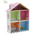 """Кукольный домик с мебелью """"Мелроуз"""" Krooom"""