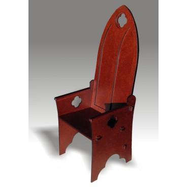 Кресло готическое для кукол высотой от 40 до 50 см.