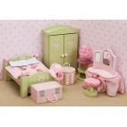 """Кукольная мебель Бутон розы """"Спальня"""" Le Toy Van"""