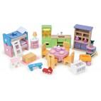 """Кукольная мебель """"Базовый набор Премиум"""", 35 предметов Le Toy Van"""