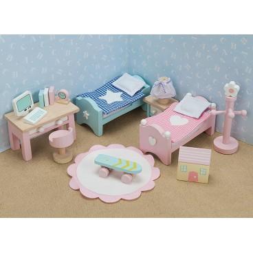"""Кукольная мебель Бутон розы """"Детская"""" Le Toy Van"""