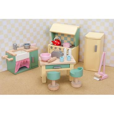 "Кукольная мебель Бутон розы ""Кухня"" Le Toy Van"