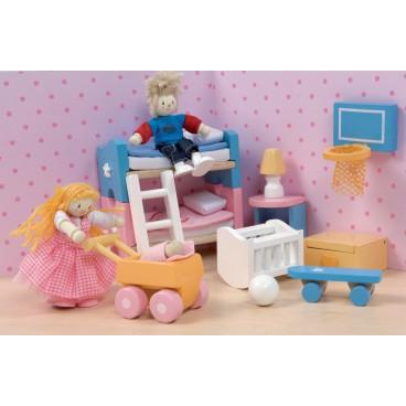 "Кукольная мебель Сахарная слива ""Детская"" Le Toy Van"
