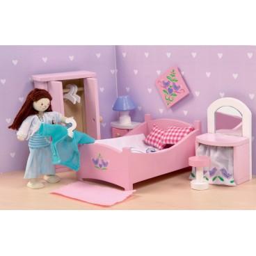 """Кукольная мебель Сахарная слива """"Спальня"""" Le Toy Van"""