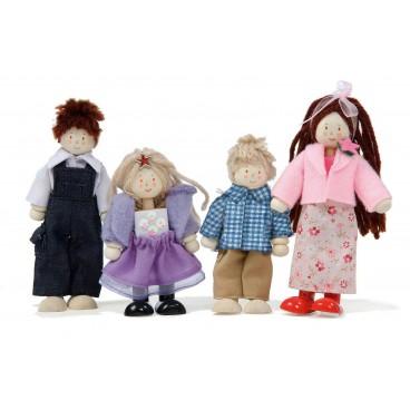 """Набор кукол """"Кукольная семья"""" LeToy Van"""